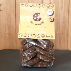 Cookies noisettes & cacao